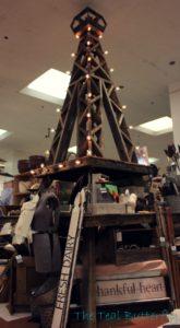 13' Reclaimed Wood Eiffel Tower